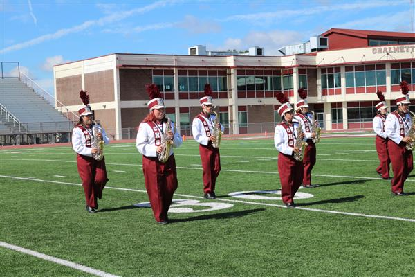 CHS Band Receives all Superior Ratings at LMEA Marching Band Assessment