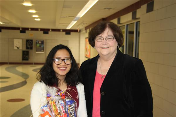 Senior Emily Vu is Named District-Wide High School Student of the Year