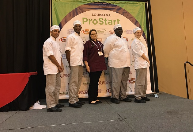 CHS Culinary Awarded Judges' Choice