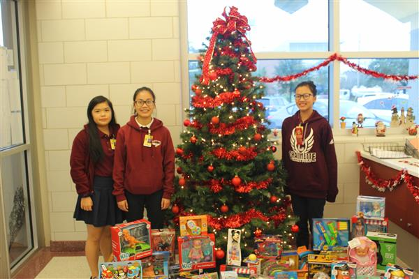 CHS Hosts Annual Christmas Toy Drive for Children's Hospital