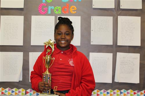 Shalyr Ceaser - 2nd place winner of the MLK Essay Contest