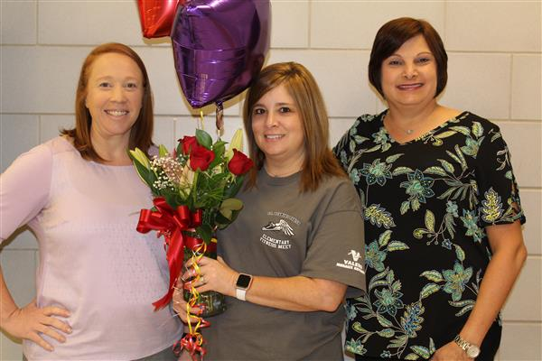 Mrs. Jill Gaillot, Teacher of the Year!