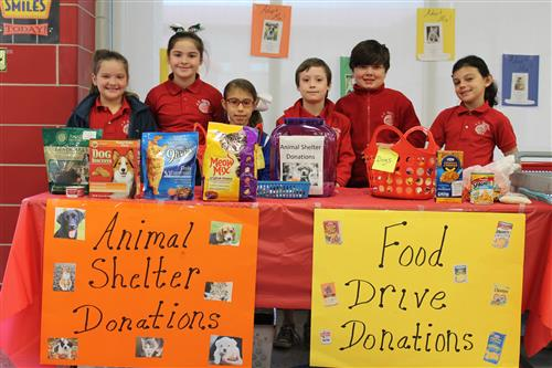 4-H Food and Pet Supply Drives