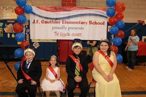 Presenting the Royal Court of J.F. Gauthier