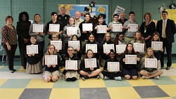 Trist Middle School announces the Fall Terrific Teens