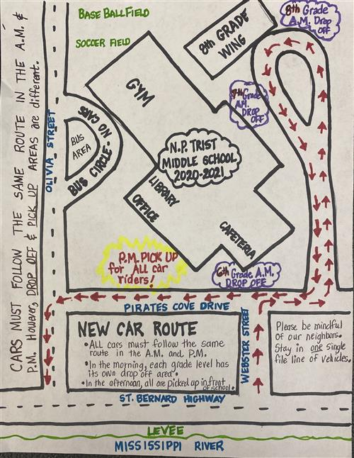 New Car Route