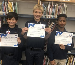 2019-2020 August Students of the Month