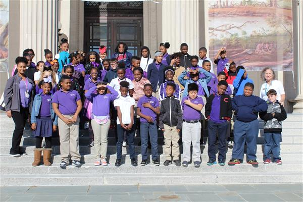 5th Grade Field Trip to NOMA