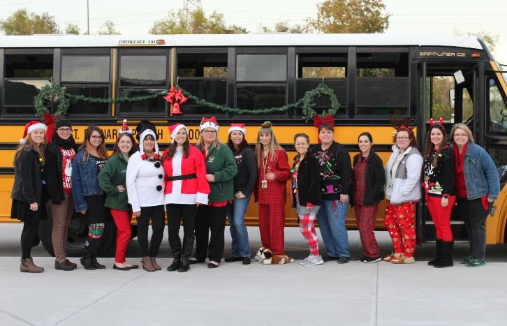 Christmas Caroling within our District