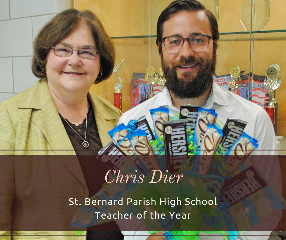 CHS Teacher Named Top in the State