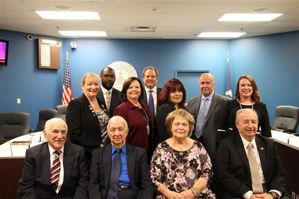 St. Bernard School Board Members Sworn In