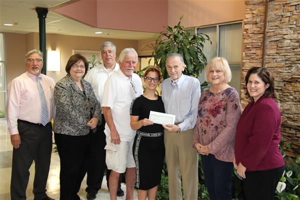 School Board Lions Club Donates to League of Angels
