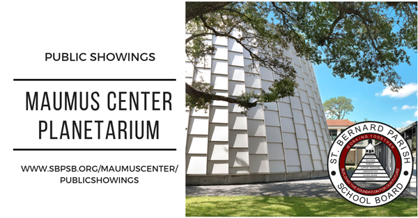 Spring Public Showings at the Maumus Center